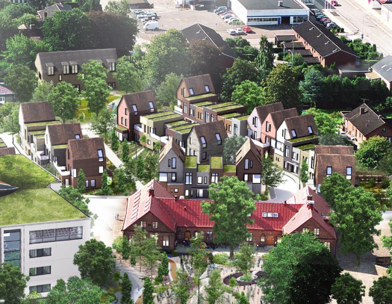 Eslöv, Eslövs kommun: Markanvisningstävling Kvarteret Gåsen. Bild: Eslövs kommun