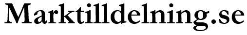 Marktilldelning SE logo