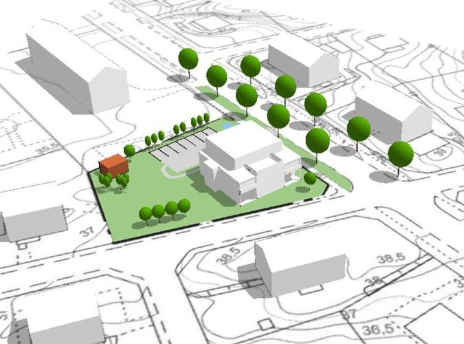 Finspång, Finspångs kommun: Markanvisning Stora Allén, Bostäder. Bild: Finspångs kommun