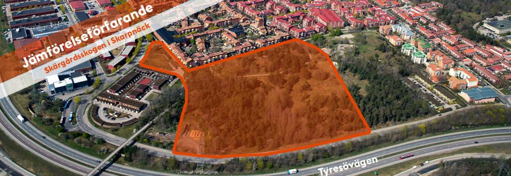 Skarpnäck, Stockholms stad: Bostäder i Skärgårdsskogen (Skarpnäcks Gård 1:1), Bild: Stockholms stad
